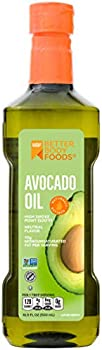 BetterBody Foods 100% Pure Naturally Refined Cooking Avocado Oil