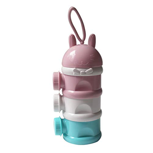 HEALLILY 1 St Baby Melkpoeder Formule Dispenser Melkpoeder Doos Met Handvat Afneembare Complementaire Voedsel Snack Melkpoeder Case