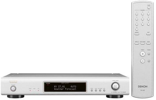 Denon TU 1500 Stereo Tuner Silber