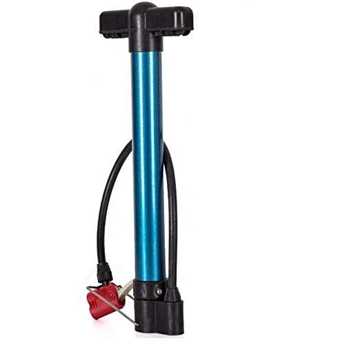 Patabit Inflador de bicicleta | Bomba para bicicleta portátil | Accesorios para bicicleta MTB | Mini bomba de aluminio de pedal con conexión de doble entrada para todos los tipos de válvula