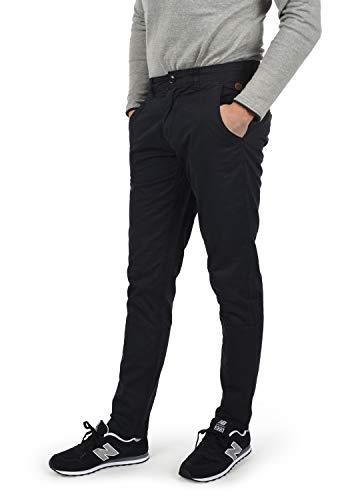 Blend Tromp Herren Chino Hose Stoffhose Aus 100% Baumwolle Regular Fit, Größe:W34/34, Farbe:Black (70155)
