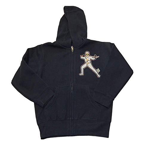 Ninja Sweatshirt-Jacke in dunkelblau Gr. 110/116 von Lieblingsstücke 4330 Hoodie