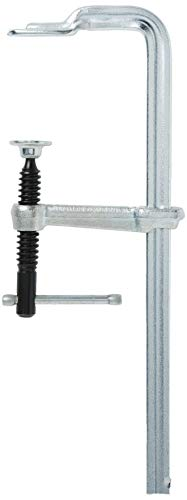 Bessey Sliding Arm F Clamp, Shop, 8 In, bright galvanized (MMS-8)