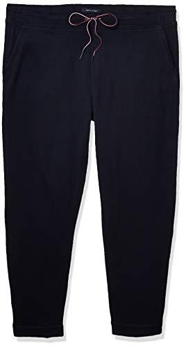 Tommy Hilfiger Herren Sweatpants with Velcro Outside Seams Trainingshose, Marineblau Blazer, Klein