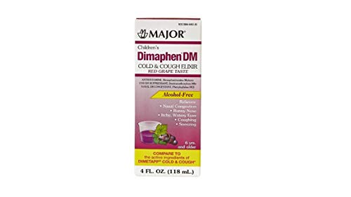 Dimaphen DM Children's Cold and Cough, 8-ounce (Pack of 2) *Compare to the Active Ingredients of Children's Dimetapp Cold & Cough and Save*