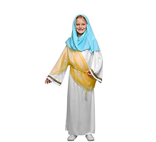 Yuppiyei Disfraz de la Virgen María para niñas