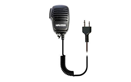 NAUZER MIA-115-S Microfono Altavoz PTT Profesional Walkie Talkie Alan G7, G8, G12 CT 180, ICOM, IC E90, IC E91, ALINC