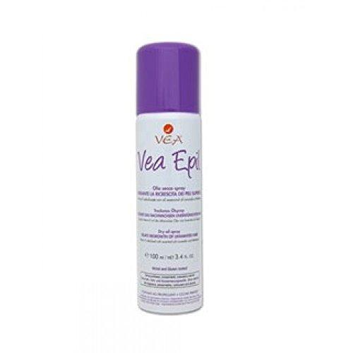 Hulka Vea Epil Olio Secco Spray Ritardante la Crescita dei Peli Superflui - 100 ml