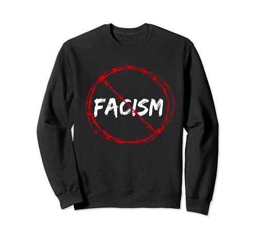 反ファシズムJust say Noファシズム トレーナー