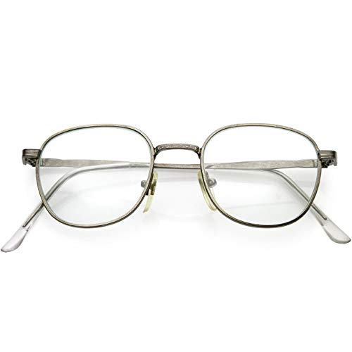 KISS Gafas neutral mod. BREAKING BAD Walter - montura óptica VINTAGE hombre mujer HIPSTER - SILVER
