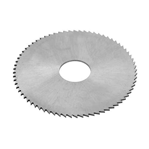 Sierra de la mano de la mano de madera Acero de alta velocidad 72 dientes Circular Saw Blade Cortar disco Accesorio de madera 63 x 1 x 16 mm Sierra de madera por Juño de Liusi