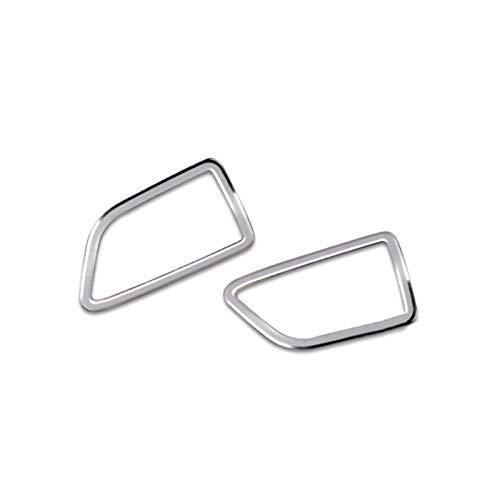 JINZHIYANG 2 unids aleación de aluminio interior de la palanca de desplazamiento + limpieza de la barra de limpiaparabrisas adorno de decoración ajuste para MERCEDES-BENZ VITO W447 2014 2015 2015 2017