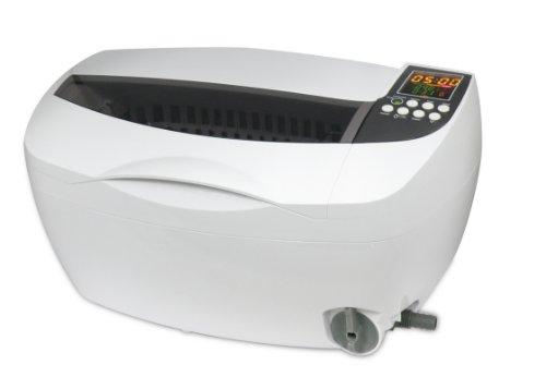 iSonic P4830 Commercial Ultrasonic Cleaner, 3.2Qt/3L, White Color, Plastic Basket, 110V