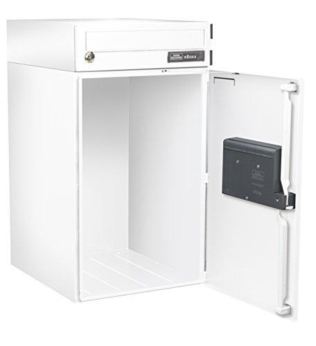 BURG-WÄCHTER, Paketbox mit Benachrichtigungskarte, Paketbox-Sharing-Fähig, Stahl, eBoxx EA 634 SW - 2