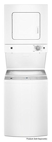 Kenmore 81442 24' 1.6 cu. ft. 120V - 20 amp Electric Laundry Center in White,...
