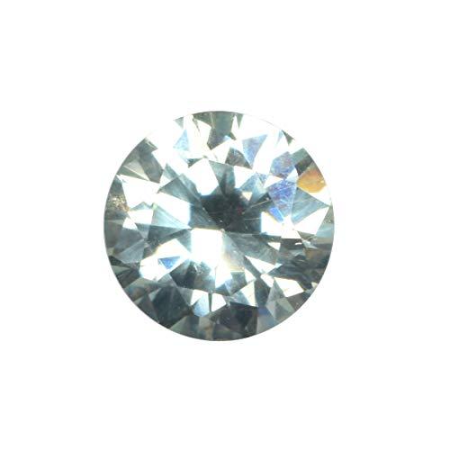 Egl Certified Green Moissanite Diamond 1.10 Ct Tamaño del anillo Corte brillante brillante Moissanite suelta una piedra preciosa