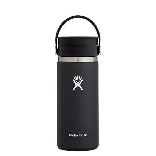 Hydro Flask Stainless Steel Coffee Travel Mug - 16 oz, Black