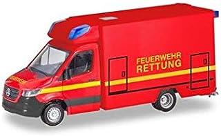 herpa 095037 Mercedes-Benz Sprinter Fahrtec RTW Fire Brigade