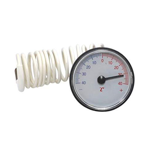 R-WEICHONG Kapillarthermometer ± 40 ℃ Temperaturmessgerät Für Warmwasserbereiter Mit 1,1 M Durchmesser 1,1m Sensor