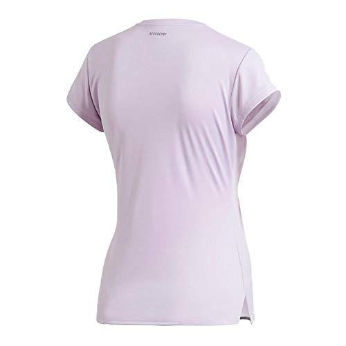 adidas Damen Club 3 STR Tee T-Shirt, Matpur/Grisei, M