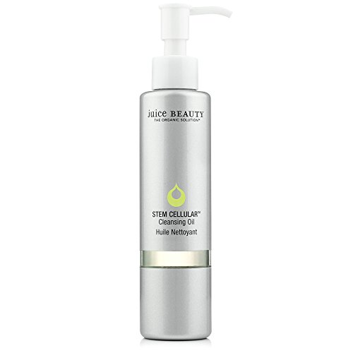 Juice Beauty Stem Cellular Cleansing Oil w/ Organic Ingredients Vit C, Grapeseed Oil, Moisturizing for All Skin Types
