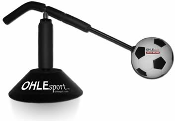Ohle Kick Soccer Training Aid - Indoor or Outdoor - Foot Work, Ball Control, First Touch