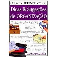 Dicas & sugestões de organização 8527903156 Book Cover