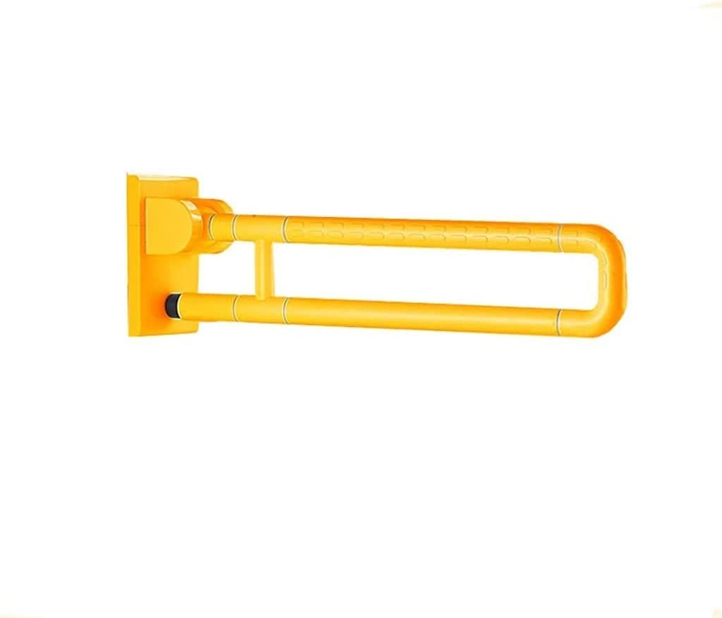 LGLFDJ Safety Grab Bar Yellow excellence Anti-Slip Plastic Outer Tube ABS Ranking integrated 1st place
