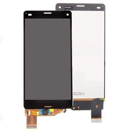 SKILIWAH® Sony Xperia Z3 Compact D5803/So-02G/Z3 Mini 修理交換用フロントパネル(フロントガラスデジタイザ) タッチパネル 液晶パネルセット ブラック