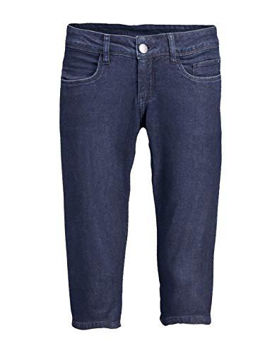 Up2Fashion Caprijeans Hose Jeans Caprihose Sommerjeans Gr. 36-38 dunkelblau, Größe: 38
