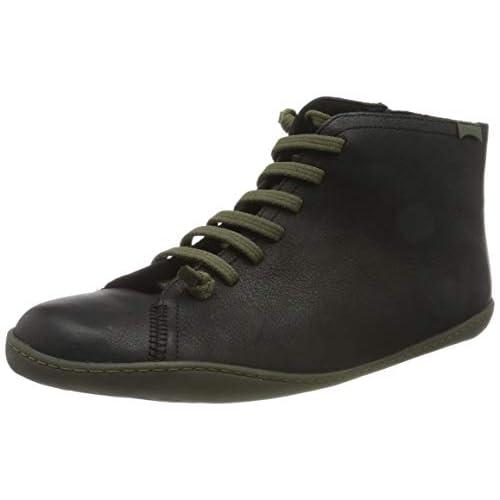 Camper Ankle Boot 36411, Peu Cami, Stivaletto Uomo, Nero, 42 EU, Black