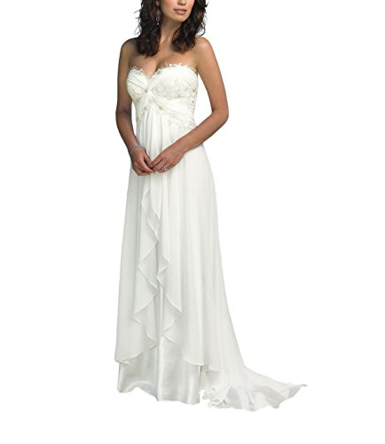 Special Bridal Strapless Wedding Dresses for Bride Lace Ruffled Long Beach Wedding...