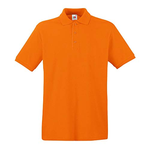 Fruit of the Loom Premium Polo Orange XL