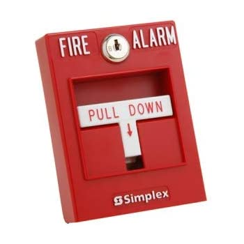 Fire Lite Alarms BG-12 Fire Alarm Dual Action Manual Pull Station, Red -  Industrial Warning Alarms - Amazon.comAmazon.com