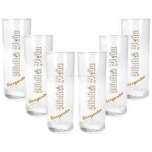 Mahrs Bräu Bierprobe Bierglas Glas Gläser Set - 6X Biergläser