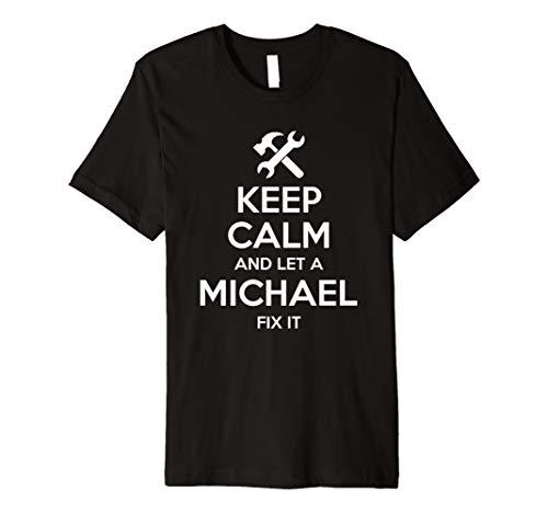 MICHAEL Funny Surname Birthday Family Tree Reunion Gift Idea Premium T-Shirt