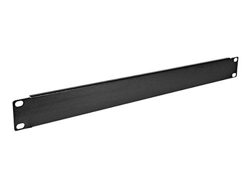 V7 RMBLANK1U10-1N Rack 1U Blank Panel - 10 Pack,Black