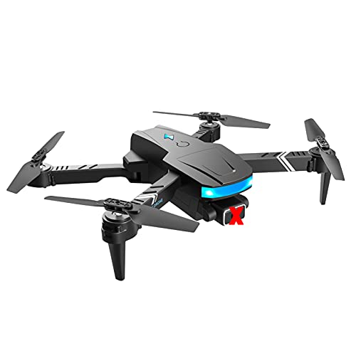B Blesiya Dron GPS plegable de 4 ejes cardán doble cámara de 1,2 km cuadricóptero, brazos plegables, gimbal GPS sin escobillas, sin lente, 1 batería