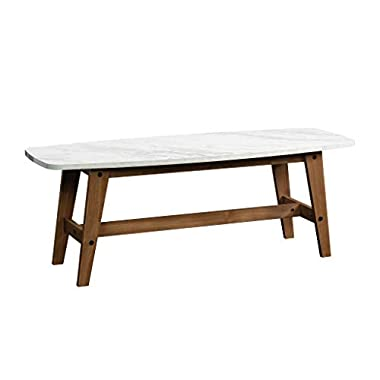 Sauder Harvey Park Cocktail/Coffee Table, Fine Walnut finish