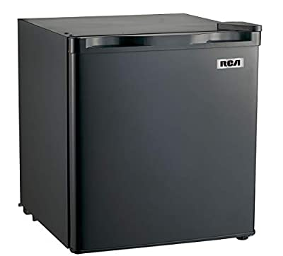 RCA RFR115-BLACK 1.6 Cubic Foot Fridge, Black