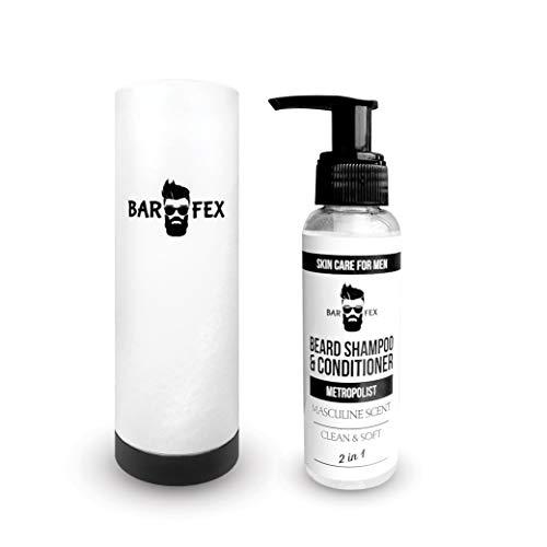 2in1 Bartshampoo & Conditioner ● Made in Germany ● Bio & Vegan ● 3tage Bart bis Vollbart von BarFex
