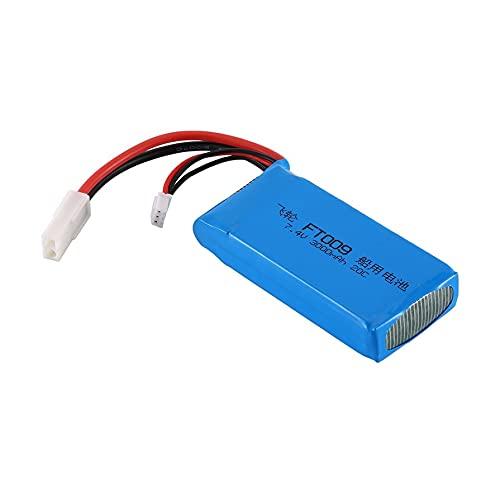 Richoyster 3000MAH 7,4 V 20C 2S 2P Enchufe RC Barco Lipo-batería Recargable para FT009 Barco de Control Remoto de Alta Velocidad