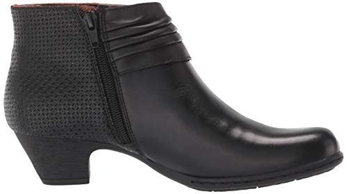 乐步Rockport Brynn Rouched 女款踝靴