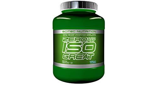 Scitec Nutrition Zero Isogreat Proteína Cero Azúcar/Cero Grasa Vainilla - 2300 g