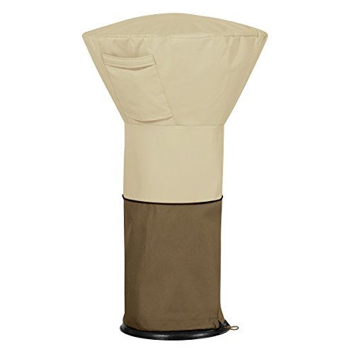 Classic Accessories Veranda Water-Resistant 21 Inch Round Table Top Patio Heater Cover