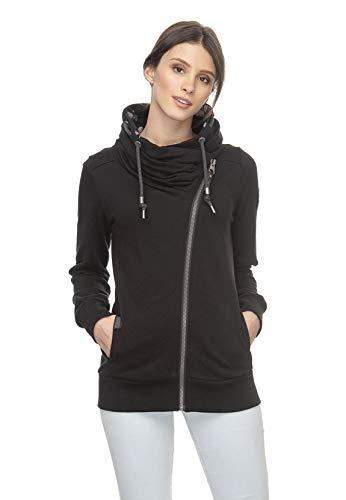 Ragwear Zipper Damen Anabel 2011-30046 Schwarz Black 1010, Größe:S
