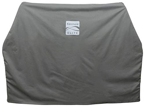 Kenmore Elite PA-20382 65' Waterproof Grill Cover, Large, Gray