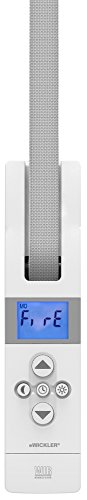 WIR elektronik, eWickler Comfort Maxi Funk, eW845, Elektrischer Gurtwickler, Display, für 23mm Gurtband, Unterputz, Zugkraft bis 75kg, Feste Fahrtzeiten einstellbar, inkl. Netzstecker