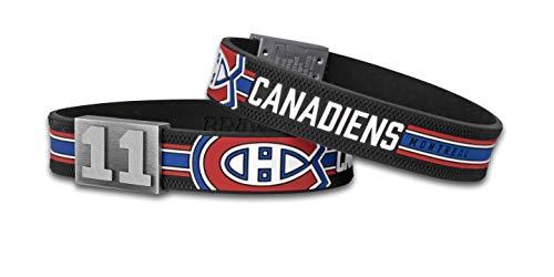 BRAYCE® Montreal Canadiens Armband mit Deiner Trikot Nummer 00-99 I Eishockey pur mit dem NHL® Canadiens de Montreal Trikot am Handgelenk personalisierbar & handgemacht