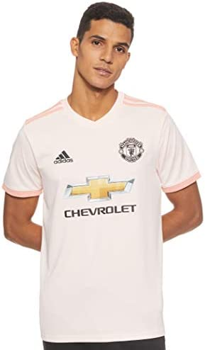 adidas MUFC A JSY Camiseta 2ª Equipación Manchester United FC, Hombre